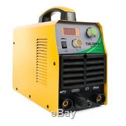 110/220V TIG Welder TIG/MMA ARC Welder 200A DC Inverter Welding Machine