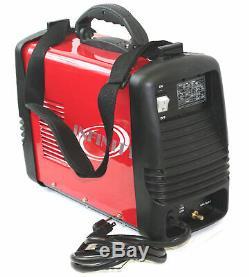 110V 220V DC Inverter 200 amp Argon Gas TIG & ARC STICK MMA Welding DC Welder