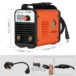 110V 220V Dual Volt MMA ARC Stick Welders Inverter ARC Welding Machine With Gift