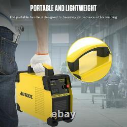 160A TIG ARC Welding Machine MMA DC IGBT Inverter Digital Stick Welder Portable
