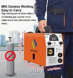 180A MIG WELDER MAG Gas/Gasless TIG MMA ARC Welder MIG Inverter Welder Machine