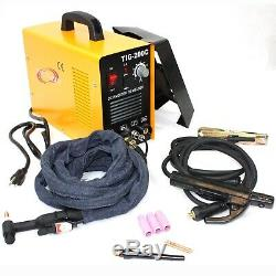 200 AMP DC PULSE TIG ARC MMA INVERTER WELDING WELDER MACHINE WithARGON REGULATOR