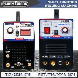 200 Amp TIG ARC Welder & TIG/ARC/CUT 3 IN 1 Plasma Cutter Machine DIY 230V