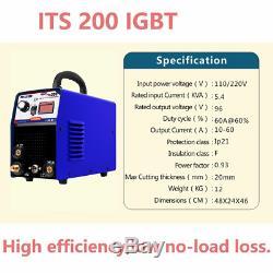 200A IGBT 2 In 1 TIG MMA Arc Welder Machine & WP-17 TIG Torch DIY
