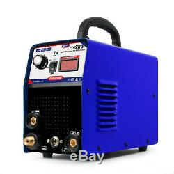 200A TIG Welders MMA/ARC Welding Machine Tig Torch + Earth Clamp + Holder WS200