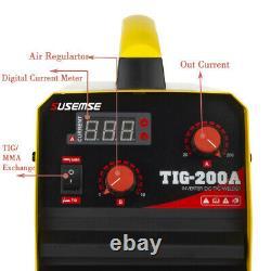 200Amp TIG MMA Welding Machine 2 IN 1 DC Inverter ARC Stick IGBT TIG Welder 230V