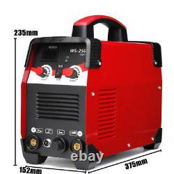 220V 7700W 2IN1 TIG/ARC Electric Welding Machine 20-250A MMA IGBT STICK