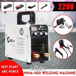 220V Hot Start&ARC Force Stick Welder Inverter MMA Welding Machine IGBT 20-400A
