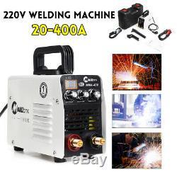 220V Hot Start/ARC Force Stick Welder Inverter MMA Welding Machine IGBT 20-400A