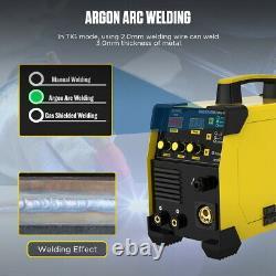 220V TIG MIG IGBT Welding Machine Portable MMA ARC 160A with Gas Inverter Welder