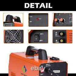 230A MIG Welder HITBOX 3-IN 1 MIG LIFT TIG ARC MMA Gas Gasless Welding Machine