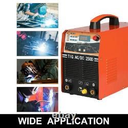 230V 250A Inverter MMA TIG Welding Machine IGBT ARC TIG Welder w Accessory