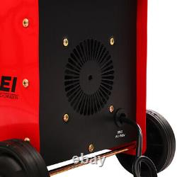 250Amp Professional MMA ARC Metal Welder Wheels Portable Gasless Welding Machine