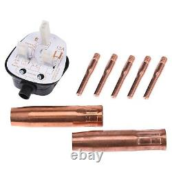 3-IN-1 MIG 200A Inverter DC Welder MMA TIG Gas Gasless Arc Spool Gun 5200W