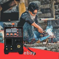 3-in-1 Mig 200a Inverter DC Welder Mma Tig Gas Gasless Arc Spool Gun Welding