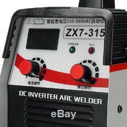 315AMP 110-560V 8000W Stick Welding MMA Machine IGBT Inverter Welder ARC