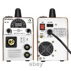 3IN 1 MIG Welder Inverter IGBT ARC MIG MMA TIG Welding Machine 220V Gas/Gasless