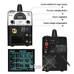 3in1 220V MIG Welder 180A MMA ARC Lift TIG Pantalla LCD Máquina de soldadura