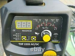AC/DC TIG Arc Stick MMA Welder Welding Machine 200A Spot Pulse Aluminium Smart