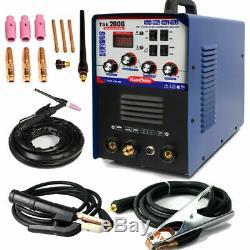 AC DC TIG MMA ARC Aluminum Welder Machine 220V & Accessories TSE200G New Design