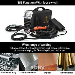 AC/DC Welding Aluminum TIG Welder 200A 240V HF MMA Stick ARC TIG Welding Machine