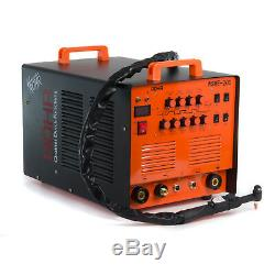 ARC TIG Welder Inverter MMA Gas / Gasless 240V 200amp DC 4 in 1 WSME-200 ROHR