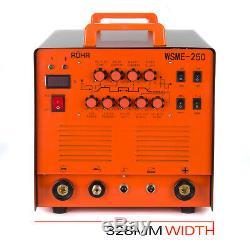 ARC TIG Welder Inverter MMA Gas / Gasless 240V 250amp DC 4 in 1 Machine ROHR