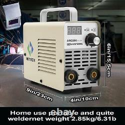 ARC Welder 110/220V Dual Volt Inverter MMA ARC Welder Welding Machine 200A Kit