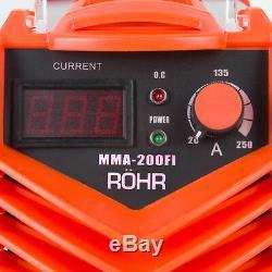 ARC Welder Inverter MMA 240V 200amp DC Portable Stick Welding Machine ROHR 07