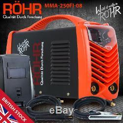 ARC Welder Inverter MMA 240V 250amp DC Portable Stick Welding Machine ROHR 08
