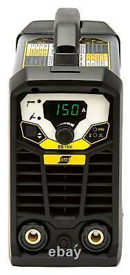 Arc Welder ESAB Rogue ES 150i MMA Inverter Package with 3 Year Warranty, 230v