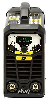 Arc Welder ESAB Rogue ES 200i Pro MMA Package with 3 Year Warranty 110v/230v