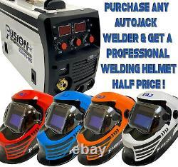Autojack 3 in 1 Inverter Welder MIG / ARC MMA / TIG 205 Amp Gas & Gasless 230V