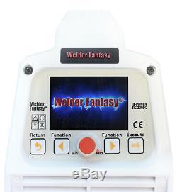 Bi-Power 200 DC Inverter Schweißgerät 200A WIG Lift-Arc/WIG HF/Pulse/MMA VRD
