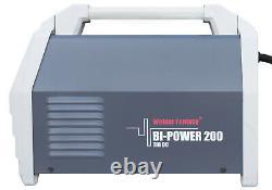 Bi-Power 200 DC Inverter Schweißgerät 200A WIG Lift-Arc/WIG HF/Pulse/MMA VRD SET