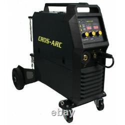 Cros-Arc 323c Professional Inverter MIG & MMA Welder 300amp 415v 3 Phase input