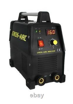 Cros Arc MMA 160D 160amp Dual Voltage 110 / 240v Inverter Welder E127