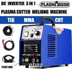 DC Interver Pilot Arc CNC Plasma Cutter /MMA/TIG Welder 3 IN 1 Machine