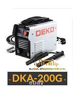 DEKO DKA Series DC Inverter ARC Welder 220V IGBT MMA Welding Machine Lightweight