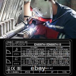 Digtal LED TIG 200A IGBT Inverter DC Welder HF 2 in 1 MMA ARC Welding Machine