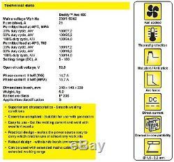 ESAB Buddy Arc 180Amp Stick Live Tig Welder Inverter MMA/ARC