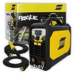Esab Rogue ES200i PRO ce Inverter 200amp arc MMA/LIFT TIG welder 110/230v