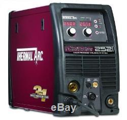 Esab Thermal Arc Fabricator 252i 230V single phase 300amp Mig, Mma, Tig Welder