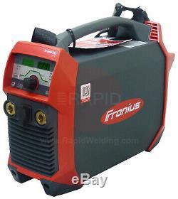 Fronius TransTig 210 Inverter Pulse TIG &MMA Arc Welder, 120 & 240V Dual Voltage