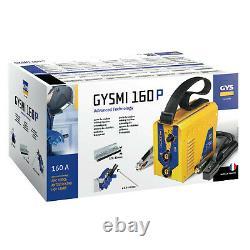 Gysmi 160p MMA Stick Arc Inverter Welder 160 amps 13amp plug c/w welding leads