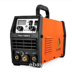 HBT2000 2in 1 MMA TIG ARC Welding Machine LED TIG Welders 200AMP 110/220V IGBT