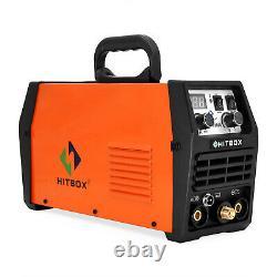 HITBOX 200A 110/220V TIG Welder IGBT DC MMA ARC TIG Welding Machine TIG Torch
