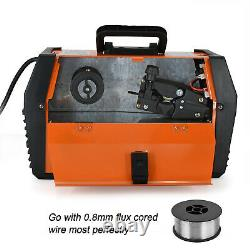 HITBOX 220V MIG/MAG WELDER Flux Core Wire Gasless LIFT TIG ARC MMA Welding