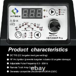 HITBOX 220V TIG200P WIG/TIG-Schweißgerätee LIFT TIG MMA ARC Welding Machine