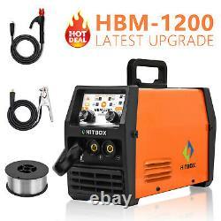 HITBOX 3 in1 MIG Welder Gasless ARC MMA Stick LIGT TIG MIG Welding Machine 220V